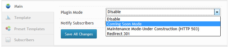 Coming Soon /Maintaince Modу / Under Construction WordPress Plugin